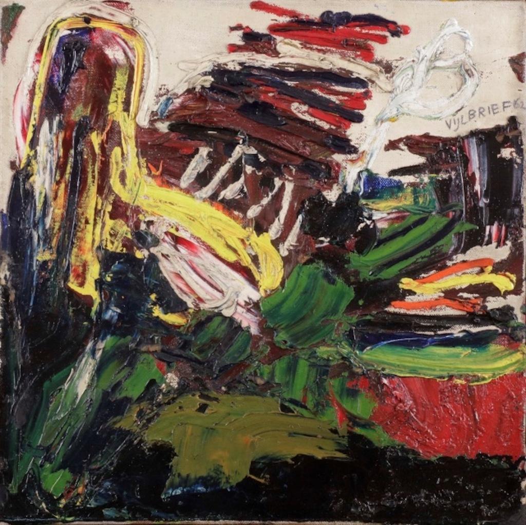 Ernst Vijlbrief painting vintage art club