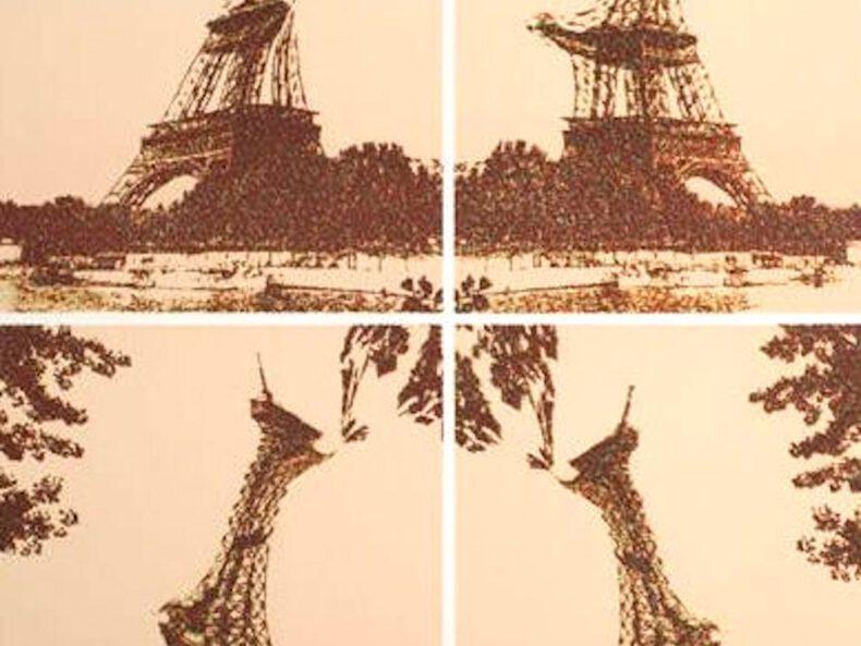 Pol Bury Tour Eiffel - 01 _vintage_art_club_gallery